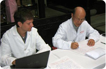 Jason and his mentor Wu Boping 2007